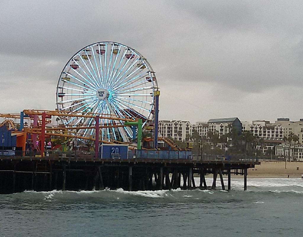 Il Pacific Park a Santa Monica