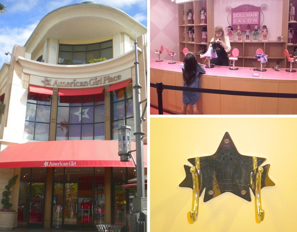 Alcune foto del negozio American Girl