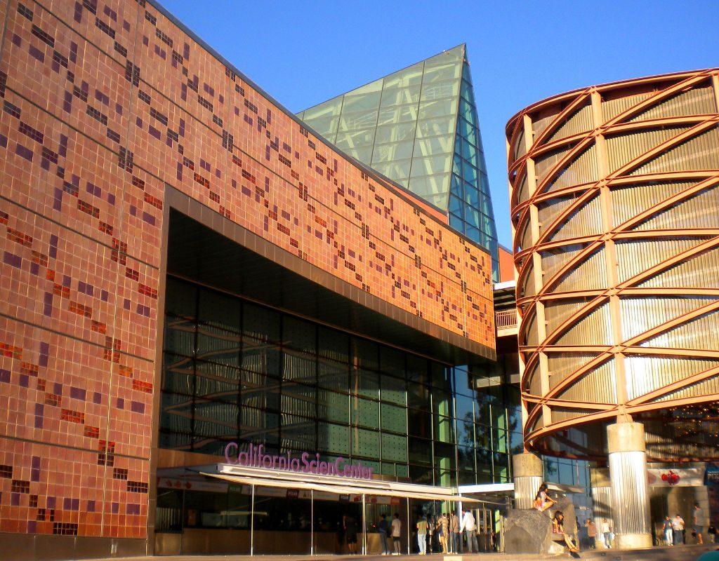 Il teatro IMAX ad Exposition Park