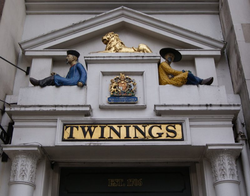 Twinings Shop sullo Strand di Londra