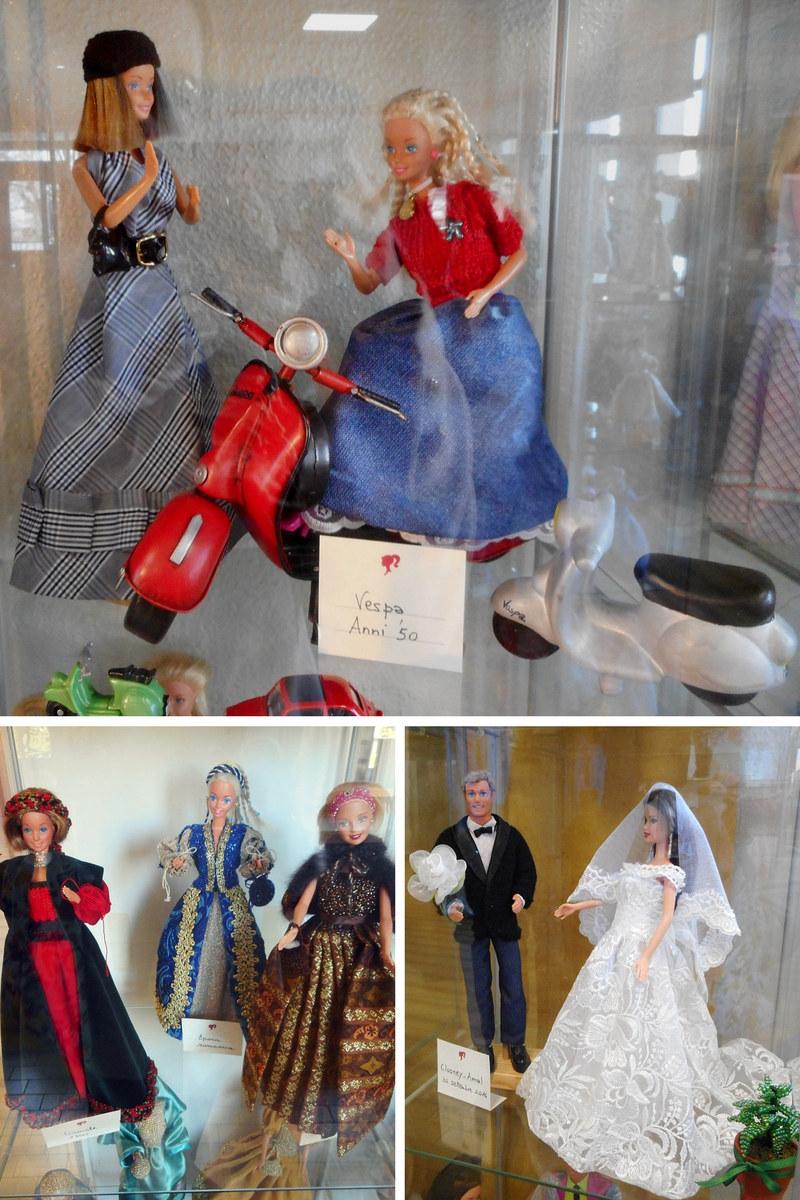 I vestiti di Barbie