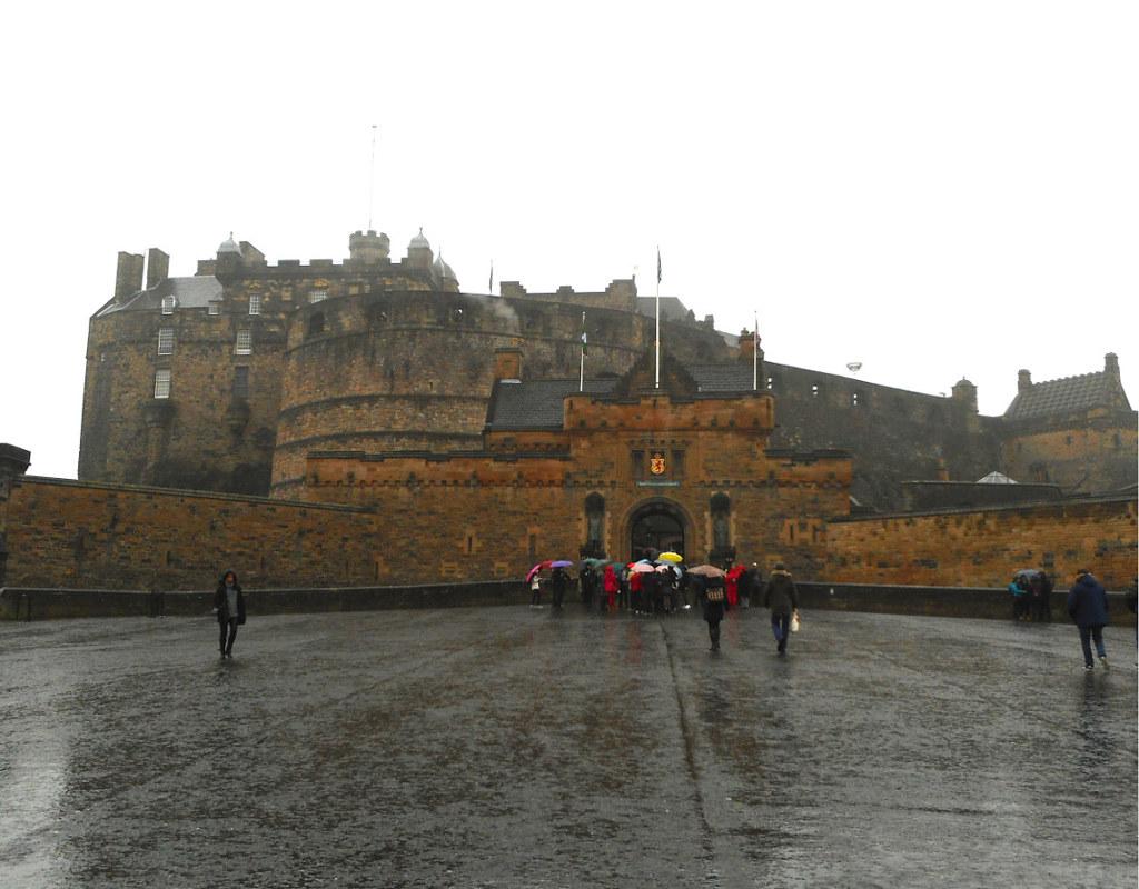 Ingresso del Castello di Edimburgo