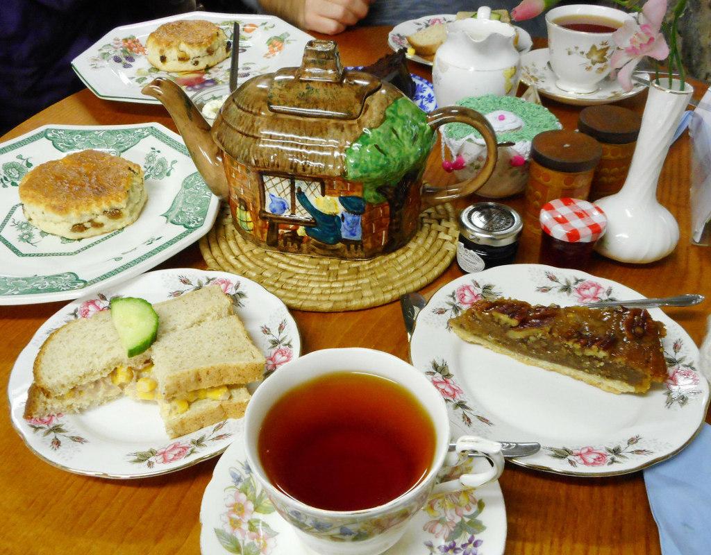 Afternoon tea da Forsyth's