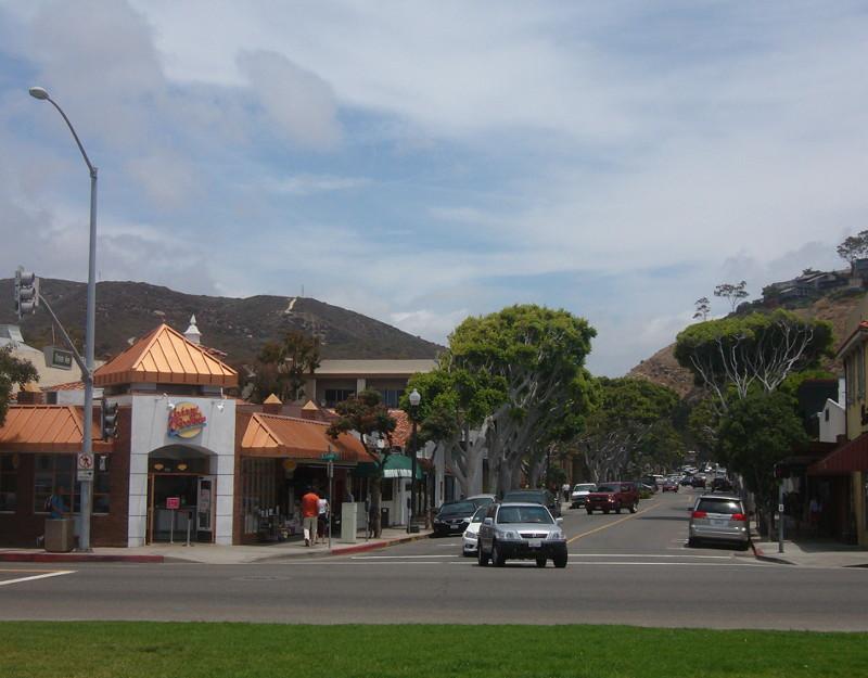 Ocean Avenue a Laguna Beach
