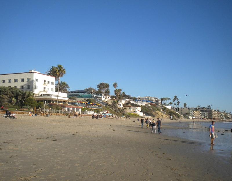 La spiaggia di Laguna Beach