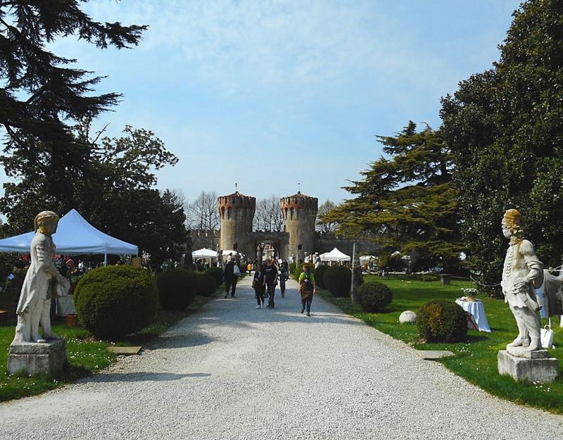 Le torri del castello di Roncade