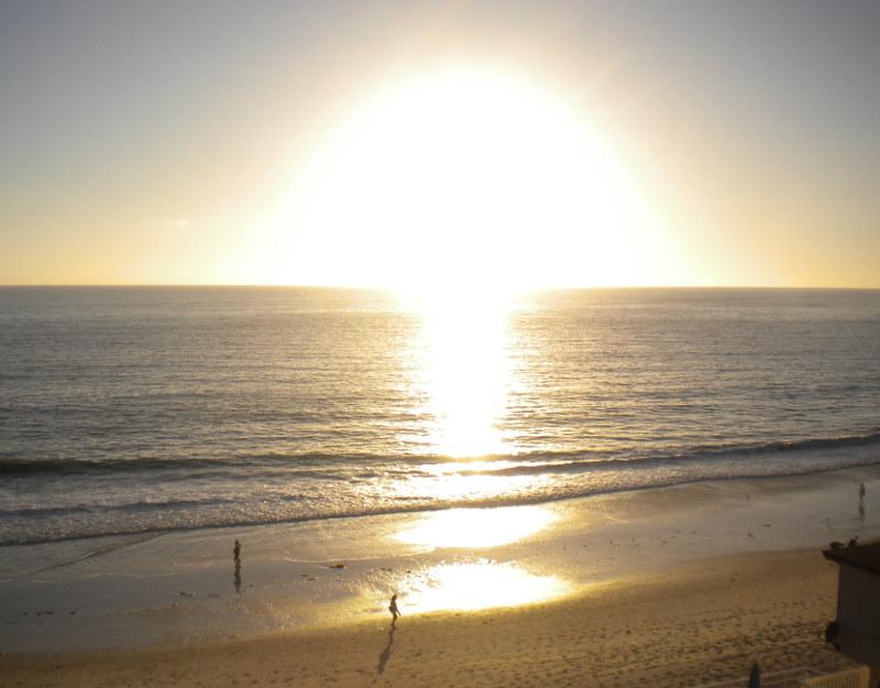 Il tramonto di Laguna Beach