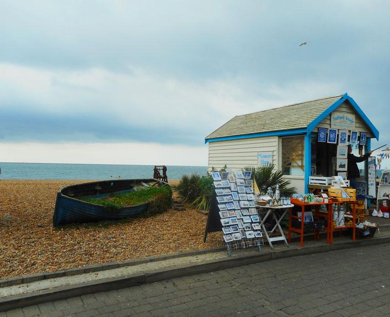 Sul lungomare di Brighton