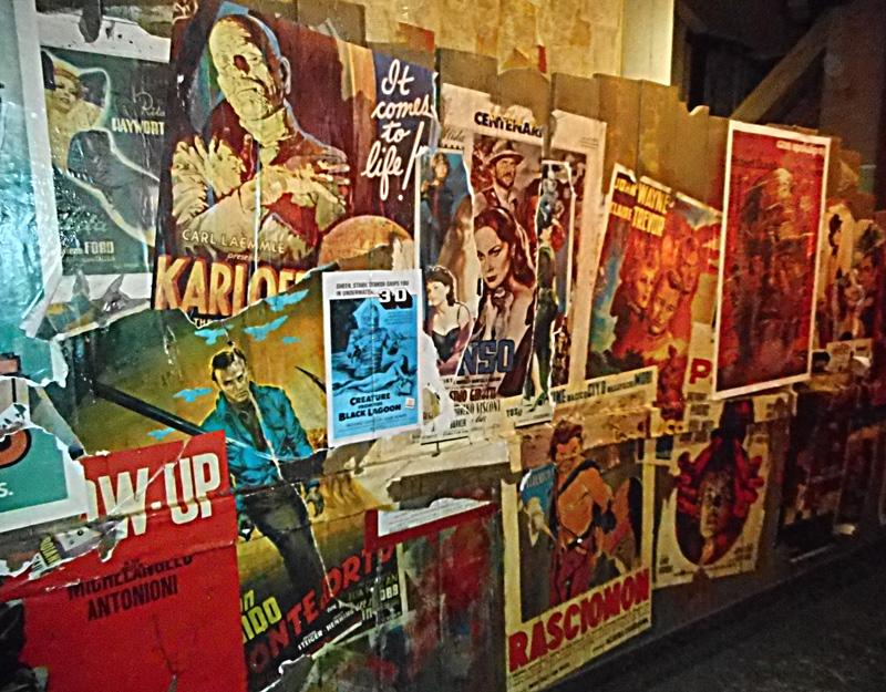 Locandine al Museo Nazionale del Cinema
