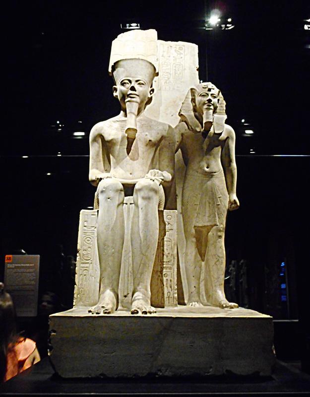Statue del Museo Egizio