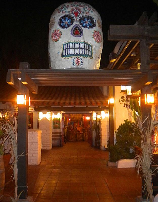 Teschio messicano a Old Town San Diego