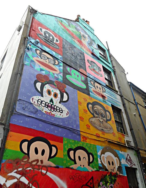 Paul Frank street art a Brighton