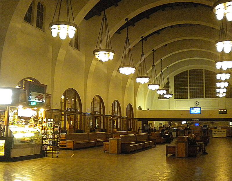 La stazione Santa Fe Depot di San Diego