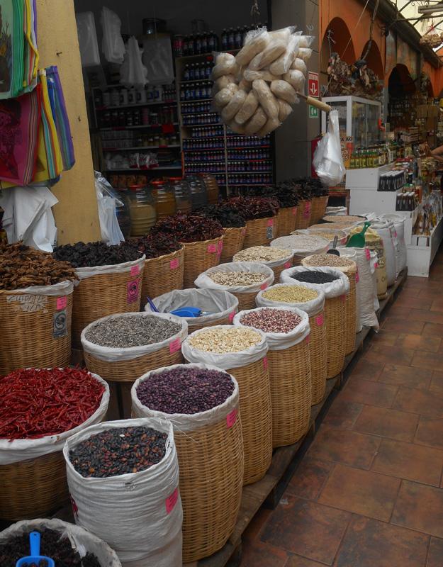 Mercato coperto a Tijuana