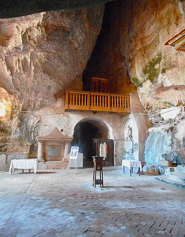 L'organo nella grotta