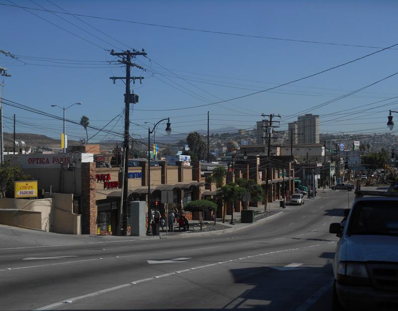 Vista su Tijuana