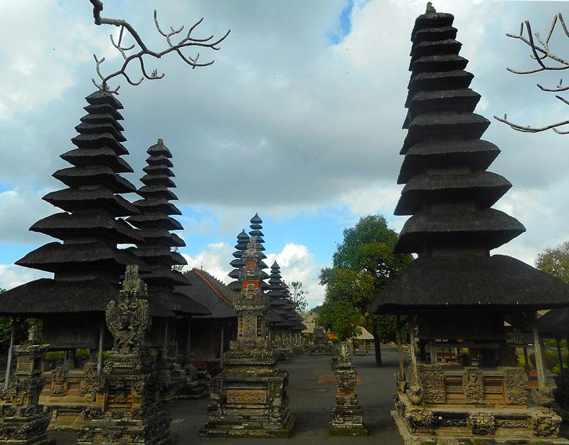 Il tempio Taman Ayun Mengwi di Bali