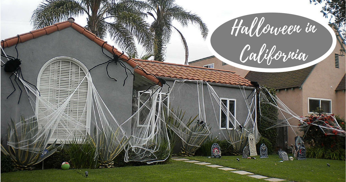 Halloween le case decorate della california in foto for Case mediterranee della california
