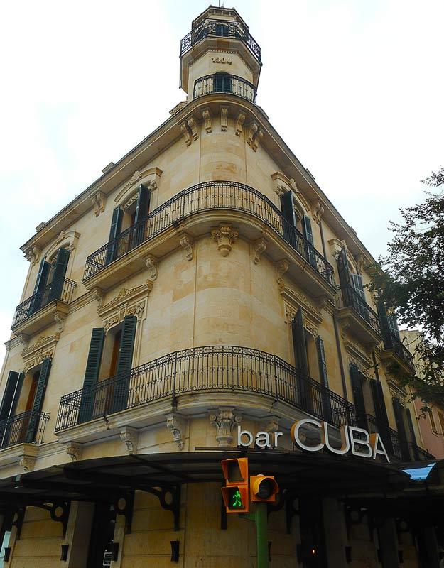 Il bar Cuba a Santa Catalina