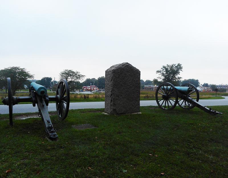Cannoni della battaglia di Gettysburg