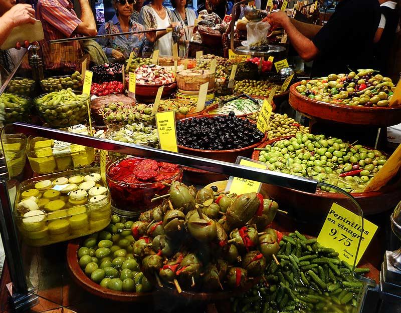 Il mercato de l'Olivar