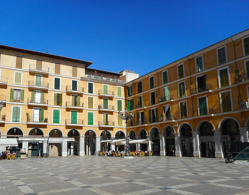 Plaza Mayor a Palma di Maiorca