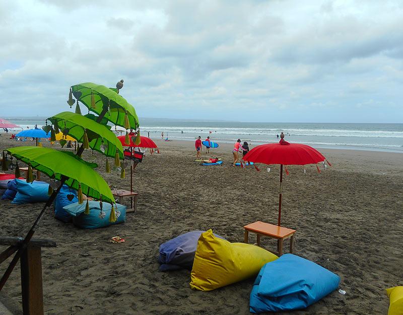 La spiaggia di Seminyak