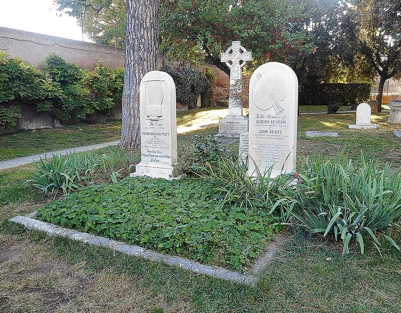 La tomba di John Keats