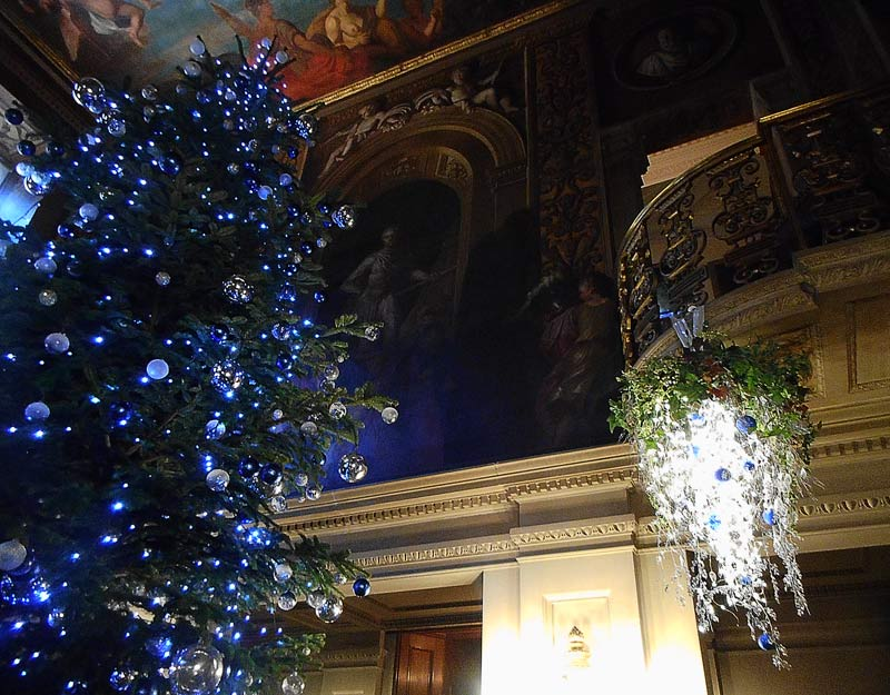 Albero di Natale a Chatsworth