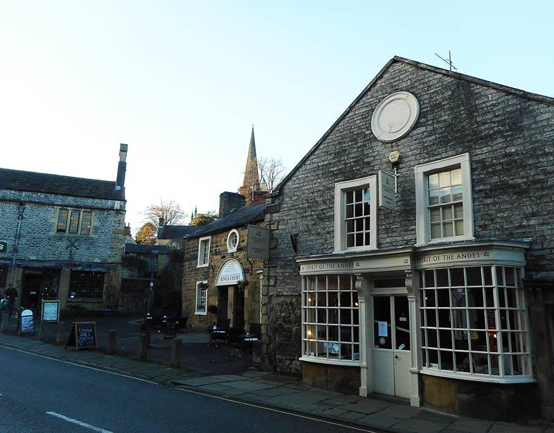 Bakewell nel Derbyshire