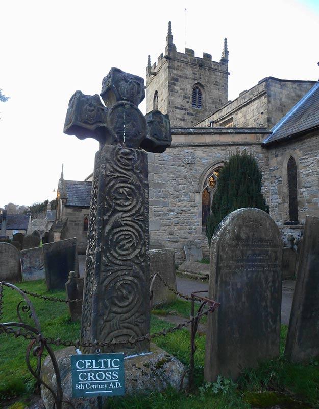 La croce celtica di Eyam