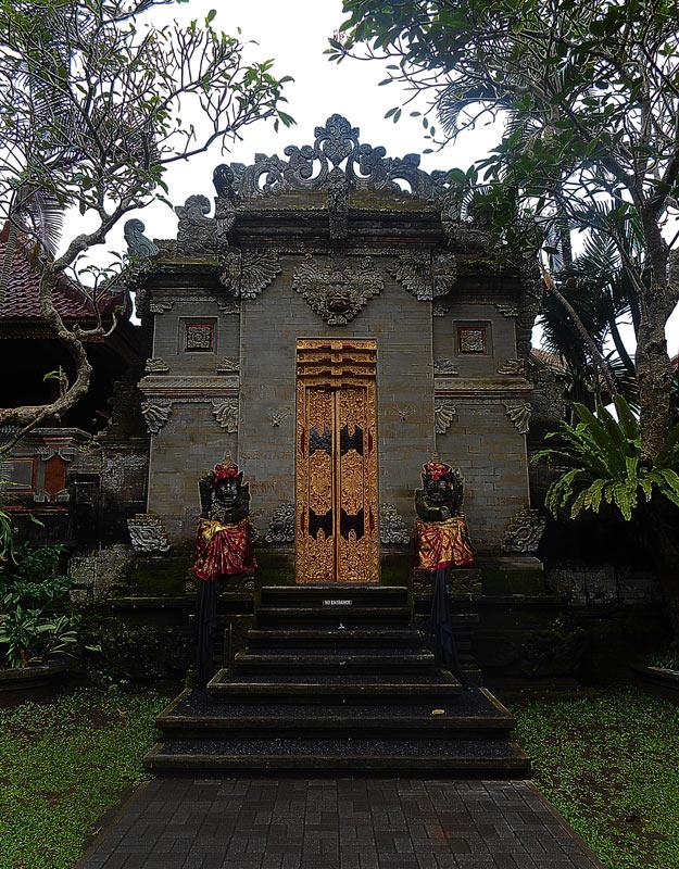 Il palazzo reale di Ubud