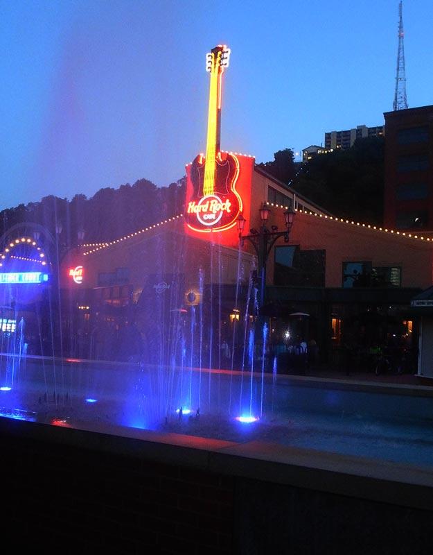 L'Hard Rock Cafe di Pittsburgh