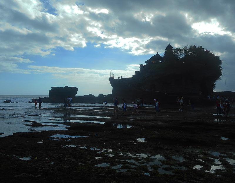 Il Tanah Lot di Bali
