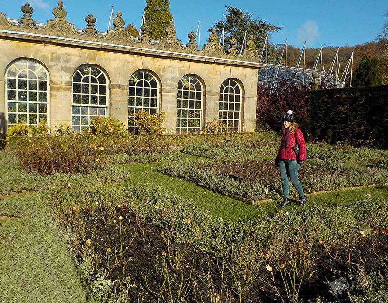 La serra di Chatsworth House