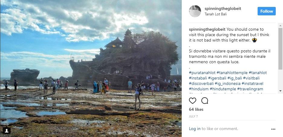 Bali su Instagram