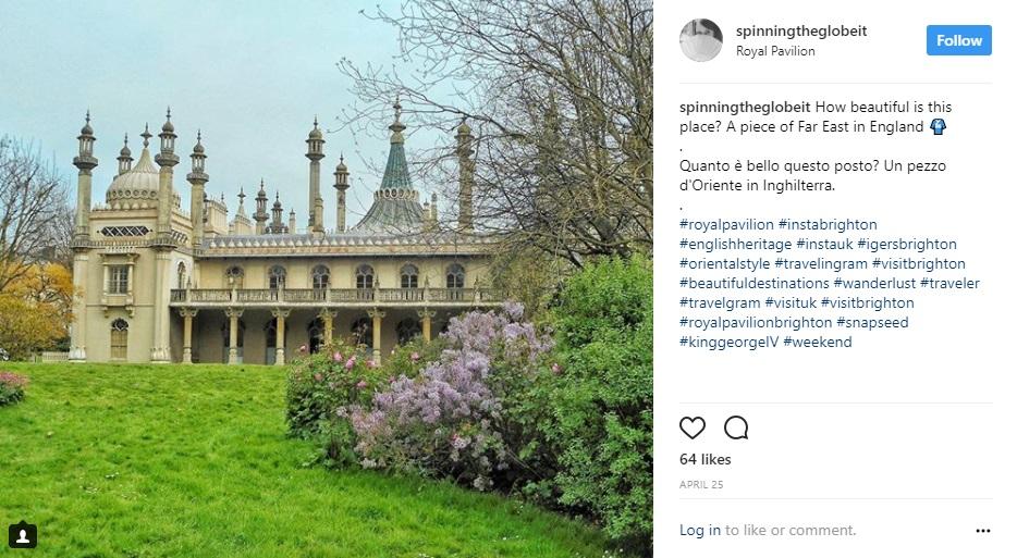 Brighton su Instagram