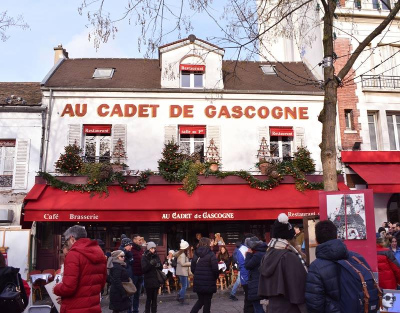 Au Cadet du Gascogne a Montmartre