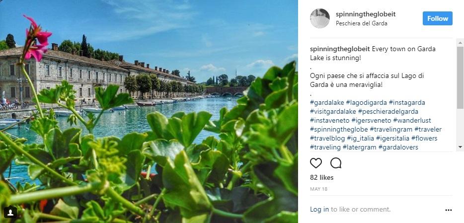 Peschiera del Garda su Instagram