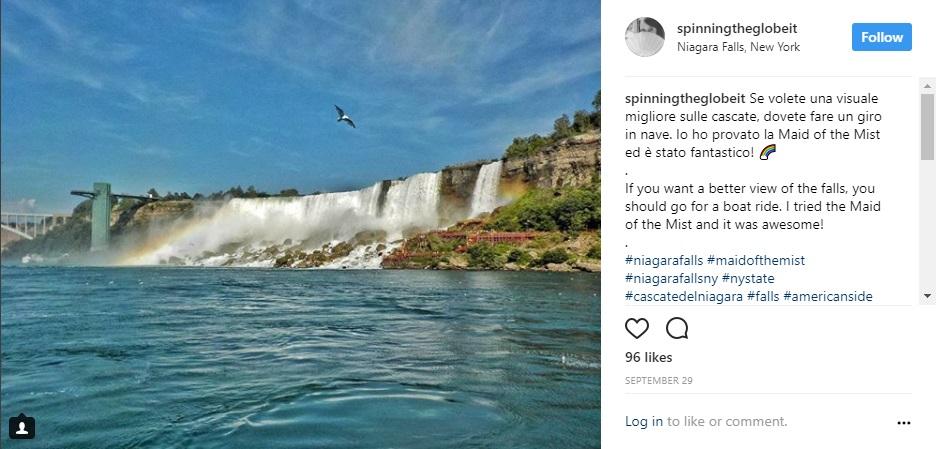 Niagara su Instagram