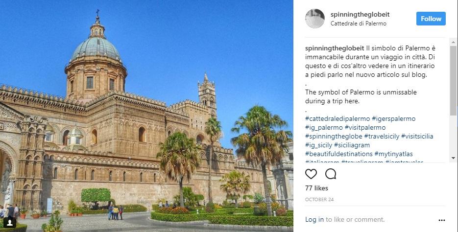 Palermo su Instagram