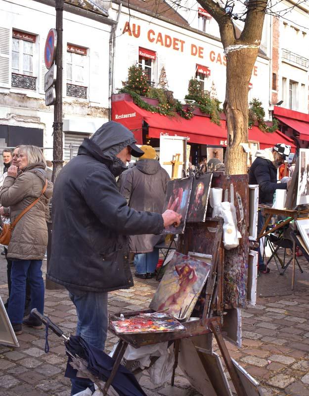 Place du Tertre a Montmartre