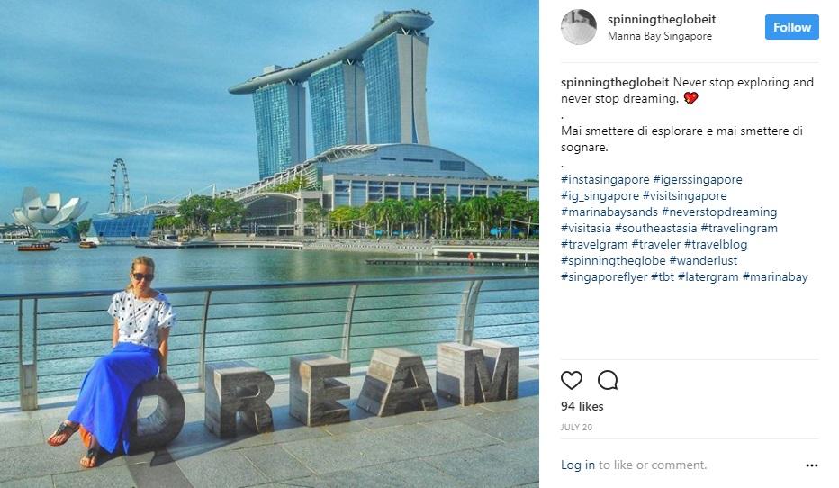Singapore su Instagram