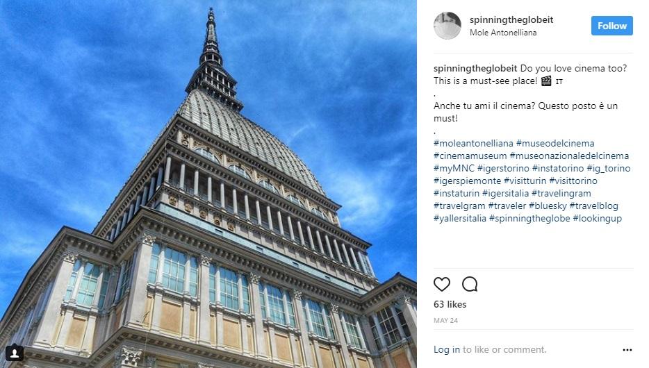 Torino su Instagram