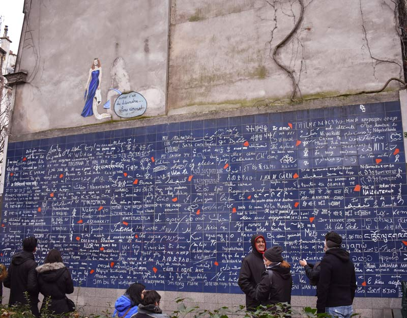 Wall of Love a Montmartre
