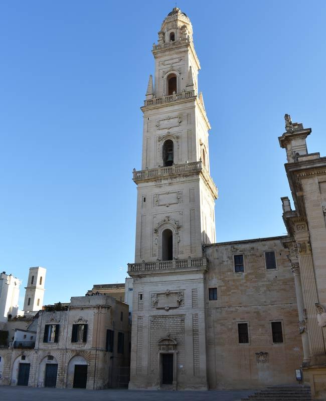 Il campanile del Duomo di Lecce