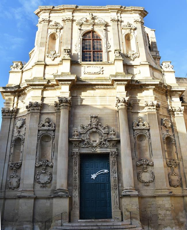 La chiesa di Santa Chiara a Lecce