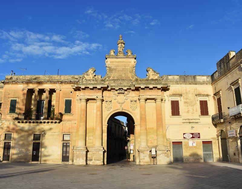 Porta San Biagio a Lecce