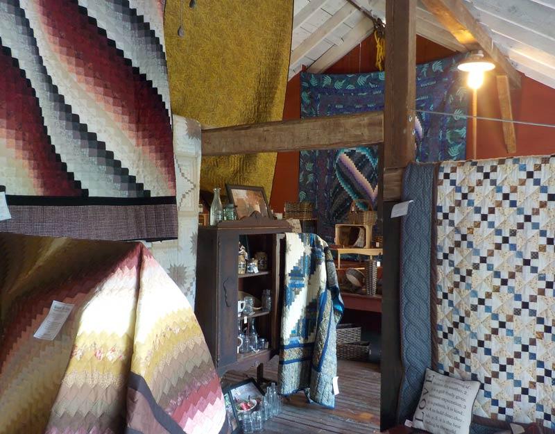 Quilt realizzati a mano dagli Amish