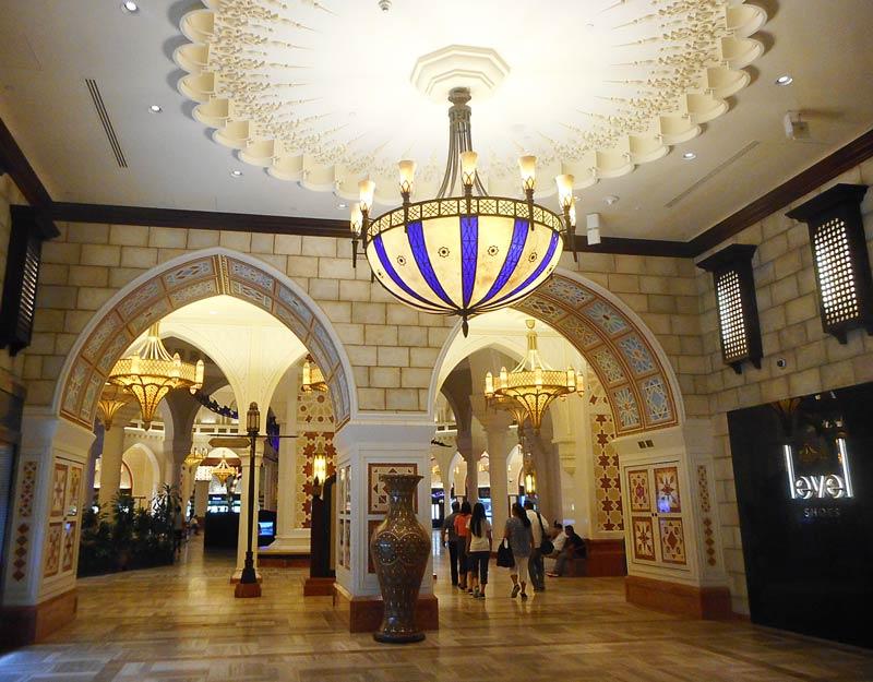 L'interno del Souk Al-Bahar